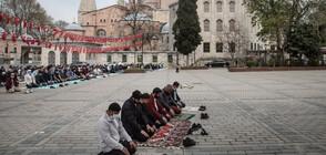 """Отлагат откриването на новата джамия на площад """"Таксим"""""""