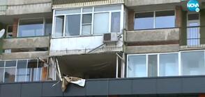 Взрив в жилищна сграда в центъра на Асеновград (ВИДЕО)