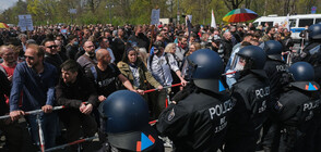 Хиляди на протест в Берлин срещу полицейския расизъм (ВИДЕО)