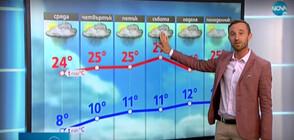 Прогноза за времето (12.05.2021 - обедна)