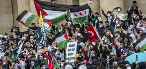 Демонстрации в подкрепа на палестинците в Европа и Близкия изток (ВИДЕО)