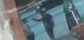Мъж стреля по момче пред заведение в Плевен (ВИДЕО)