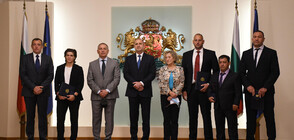 President Radev confers Honorary Sign of the Head of State to Bulgarian athletes