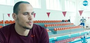 Антъни Иванов е на финал на Европейското първенство по плуване
