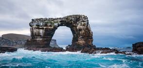 Рухна прочутата Арка на Дарвин край Галапагоските острови