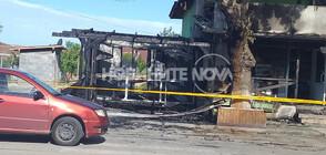Изгоря магазин в Гложене, подозират умишлен палеж (СНИМКА)