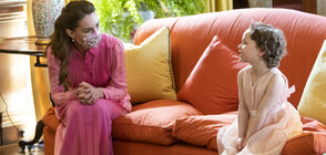 Кейт Мидълтън с мил жест към момиченце, болно от рак (СНИМКИ)