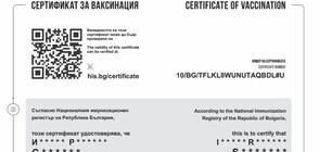 Теглим новия електронен сертификат за ваксинация