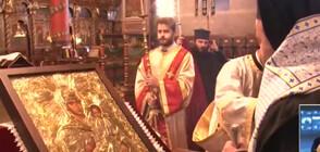 Стотици посрещнаха в Банско копие на чудотворната икона на Пресвета Богородица (ВИДЕО)