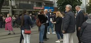 Протест пред Съдебната палата иска оставката на Иван Гешев