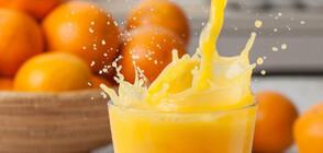 Портокаловият сок понижава риска от деменция