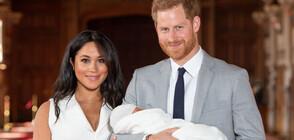 Британската преса отпразнува появата на дъщерята на Хари и Меган (ВИДЕО)
