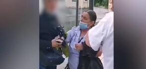 Агресия на автобусна спирка в София (ВИДЕО)