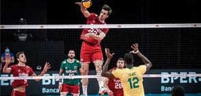 И Бразилия не остави шансове на България в Лигата на нациите