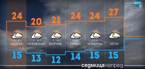 Прогноза за времето (12.06.2021 - обедна)