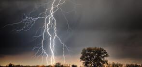 Валежи и гръмотевични бури и в неделя