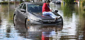 Сериозни наводнения в Турция (ВИДЕО)