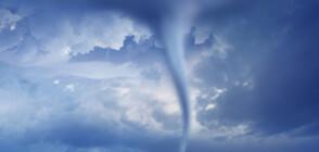 НЕОБИЧАЙНО ВРЕМЕ: Сняг и торнадо в Анталия (ВИДЕО+СНИМКИ)