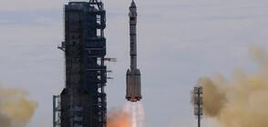 Китай изпрати първия екипаж до новата си космическа станция (ВИДЕО)