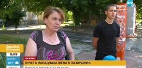 Ученик спаси жена от агресивни кучета