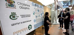 2658 са поставените ваксини през уикенда в столичните зелени коридори