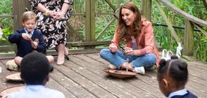 Кейт Мидълтън изненада ученици в Лондон (ВИДЕО)