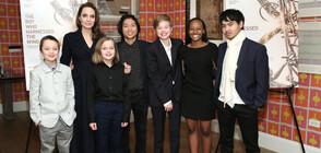 Три от децата на Джоли и Пит са искали да свидетелстват срещу актьора