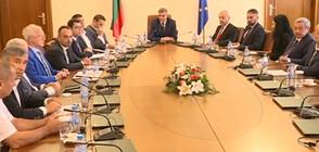 Премиерът на среща с представители на БФИЕК и работодателски организации
