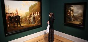 Откриха изгубен шедьовър на Рембранд, след като паднал от стена (ВИДЕО)