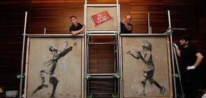 Колекционер откри изложба на Банкси във Франция (ВИДЕО)
