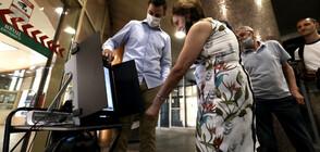 Пробно гласуване с машини в столичното метро (ВИДЕО+СНИМКИ)