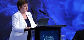 Кристалина Георгиева за икономиката: Най-накрая се вижда светлина в тунела