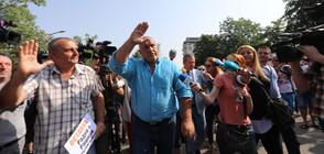 Борисов след разпита: Повикаха ме за неща, които някой е чул по време на крос (ВИДЕО+СНИМКИ)