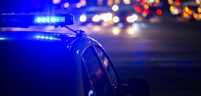 Зрелищна гонка: Патрулка преследва няколко автомобила в Бургас