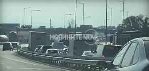 Огромни тапи на ключови пътни артерии в София (ВИДЕО)