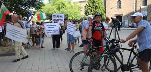 """Медиците от """"Пирогов"""" отново на протест въпреки постигнатия компромис (СНИМКИ)"""