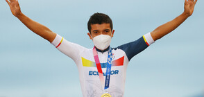 Ричард Карапас спечели злато за Еквадор в колоезденето на шосе