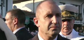 Румен Радев: Връчвам мандат, когато партиите гарантират, че са постигнали резултат