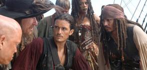 """Джак Спароу влиза в страховита битка в """"Карибски пирати: На края на света"""""""