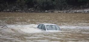 Кола падна в река в Хасково, една жена е в болница