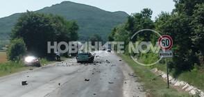 Верижна катастрофа затвори пътя София-Варна, има загинали (СНИМКИ)