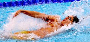 Плувецът Калоян Левтеров приключи участието си в Токио