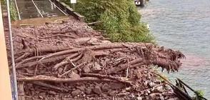 Наводнения и свлачища в Северна Италия след нови дъждове (СНИМКИ+ВИДЕО)