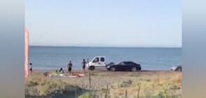 """СЛЕД РЕПОРТАЖ НА NOVA: Глобиха част от нарушителите, карали по плаж """"Вромос"""""""