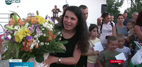 Посрещнаха шампионски Антоанета Костадинова в Търговище