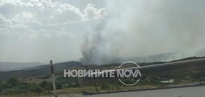 Пожарът край Перник е потушен