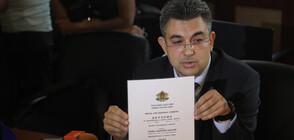 Кандидат-премиерът Николов показа дипломите си (ВИДЕО+СНИМКИ)