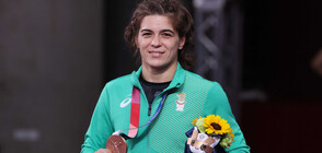 Taibe Ussein won third medal for Bulgaria in Tokyo