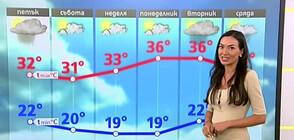Прогноза за времето (05.08.2021 - обедна)