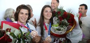 България посрещна още медалисти от Oлимпиадата в Токио (СНИМКИ)